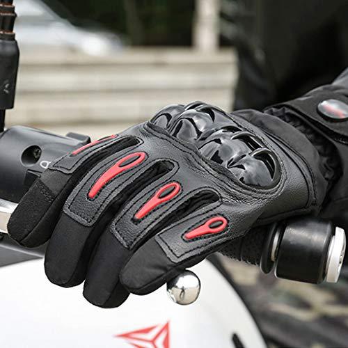 Guantes de Moto Winter Warm,Guantes de Ciclismo con Pantalla táctil a Prueba...