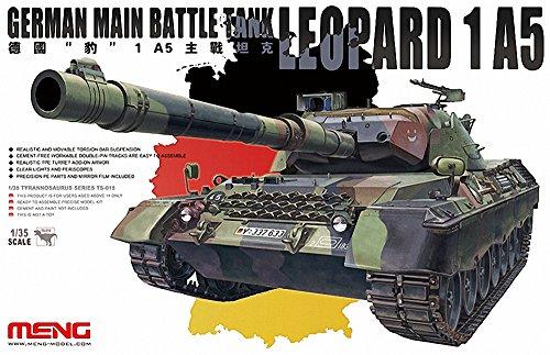 Tanque Modelo alemán Leopard Tanque de Batalla Principal 1 A5 Escala 1:35