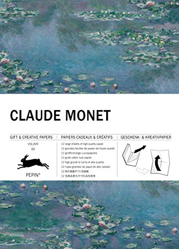 Claude Monet: Gift & Creative Paper Book Vol. 101 (Gift & creative papers, 101)