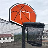 Poncho Trampoline Basketball Hoop with Pump and Attachment Mini Ball Included Easy Set for Poles Basketball Plate
