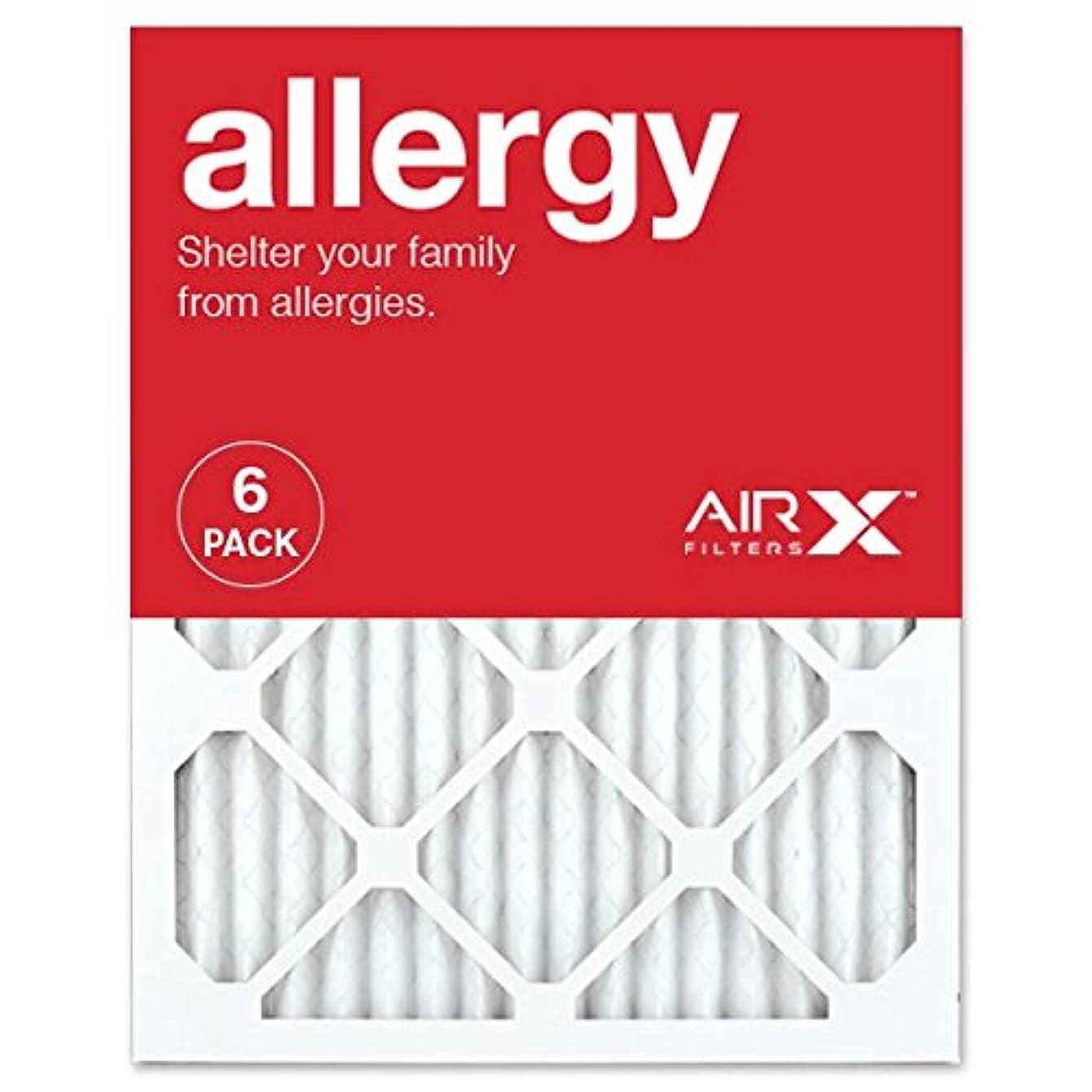 AIRx ALLERGY 16x20x1 MERV 11 Pleated Air Filter - Made in the USA - Box of 6 jqhtwxolibcyp47
