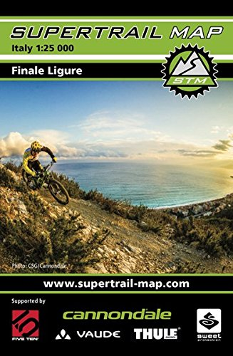 Supertrail Map Finale Ligure: Maßstab 1:50 000