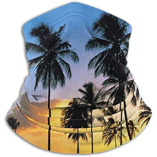 Randy-Shop Coconut Grove dans The Sunset Neck Warmer - Tube à Soufflet, Cache-Oreilles et Masque Facial