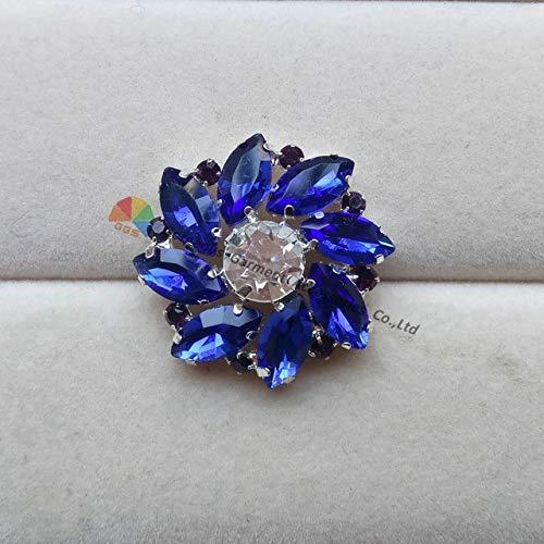 royal blue crystal browband - 8