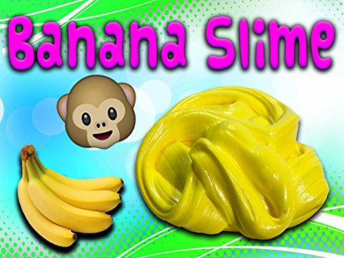 How to make Fluffy Banana Slime