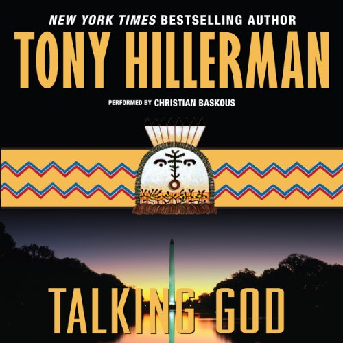 Talking God audiobook cover art