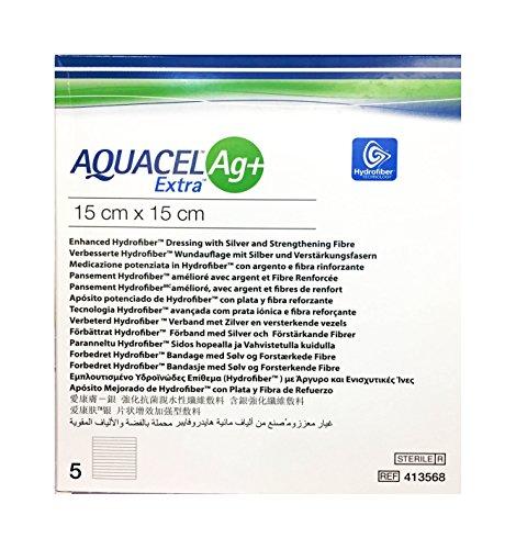 aquacel AG + extra 15x 15cm compresas 5ST compresas
