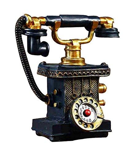 Modelos clásicos del teléfono británico retro Colecciones de las antigüedades Decoraciones caseras