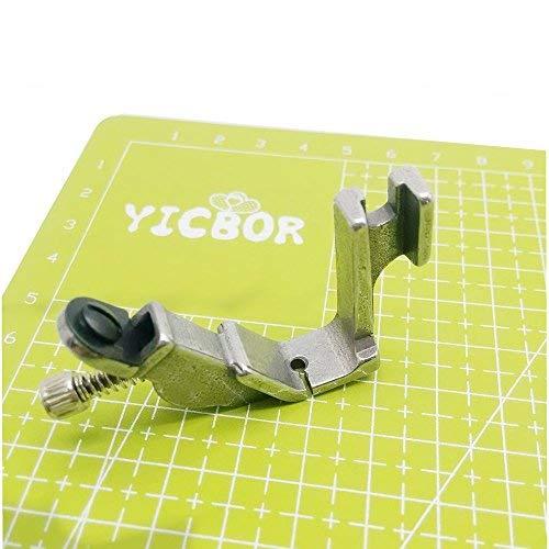 YICBOR Prensatelas elásticas S537 compatible con Brother Janome Juki Industry máquina de coser tensor ajustable (S537 1/8)