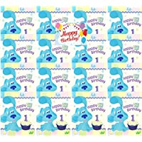 Blues Clues 1st Birthday Party Supplies Birthday Invitations Bundle for 16 Guests
