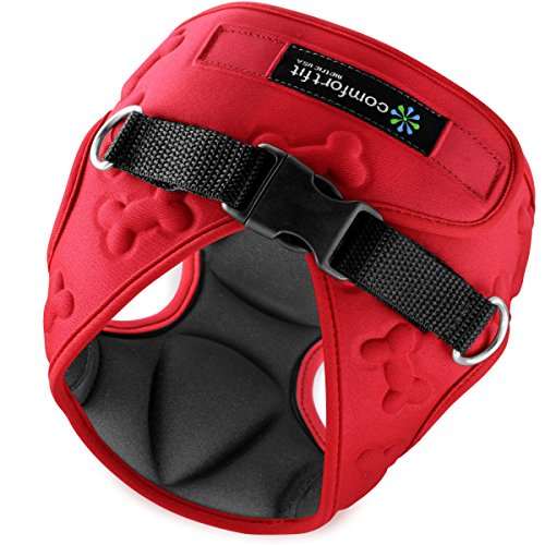 Comfort Fit Metric USA 6.3 x 8.8-Inch Dog Harness with Padded...
