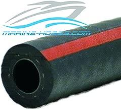 A1 Fuel Line 5/8 ID A1 Low Permeation Marine Fuel Feed Hose 5/8 inch ID Unaflex by the foot