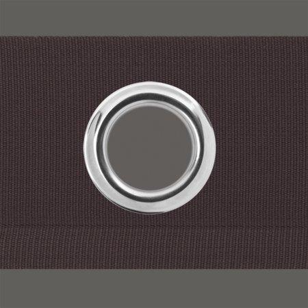 Gardinen Ösenband - zum annähen, Gardinenband, Gardinenzubehör (60 mm, anthrazit) - 2 Meter