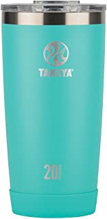 Takeya Actives Insulated Stainless Tumbler with Flip Lid, 20oz, Teal