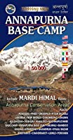 Annapurna Base Camp - Annapurna Conservation Area Map - Scale 1:50 000 by Nepal Map Publisher Pvt. Ltd.