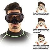 Zoom IMG-2 flintronic maschera per immersioni apnea