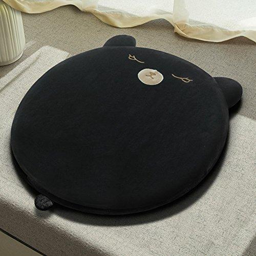 XMZDDZ Tatami-matten, traagschokdemping, stoelkussen voor in de auto of op kantoor, voor in de tuin, indoor en outdoor, zitkussen, stoel, yoga Durchmesser40cm(16inch) D
