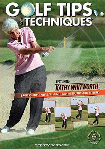 Sports DVD Golfing Instructional Video for Youth Coaches, Parents & Players, Golf Tips and Techniques featuring Coach Kathy Whitworth
