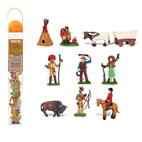 Plastoy - 6809-04 - Figurine - Animal - Tubo Cow-Boys Et Indiens