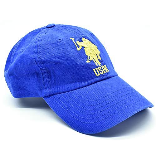 U.S. Polo Assn. Gorra para Caballero MD. USRCAP-42-230 Color Azul Rey