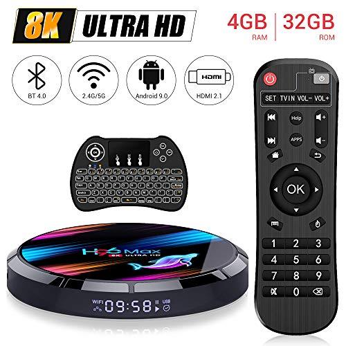OKEU Android TV Box Smart TV Box H96 MAX X3【4G+32G】