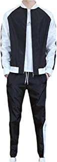 Men's Tracksuit Set 2 Piece Athletic Sports Casual Full Zip Activewear Sweatsuit
