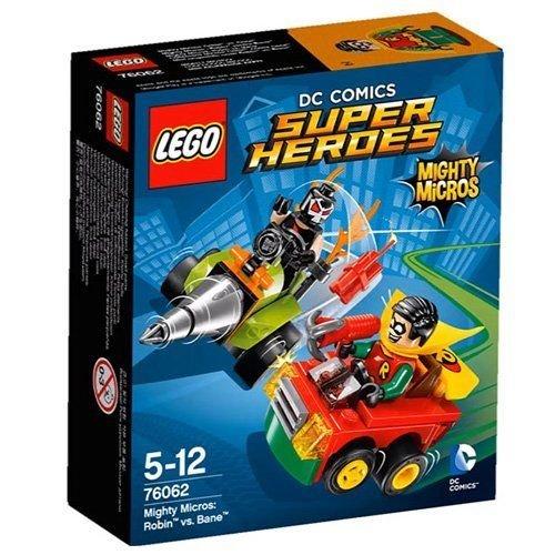 LEGO Super Heroes - Set Mighty Micros: Robin vs. Bane (76062)
