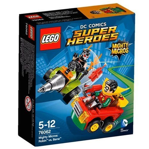 LEGO Super Heroes - Set Mighty Micros: Robin vs. Bane (76062)