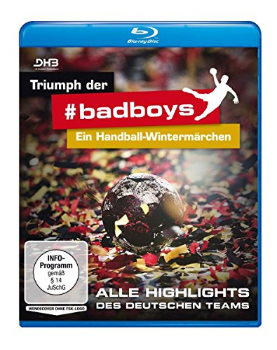 Triumph der badboys - Ein Handball-Wintermärchen [Blu-ray]