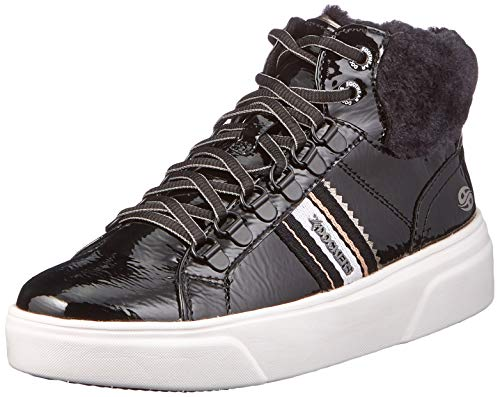 Dockers by Gerli Women's Low-Top Sneakers, Schwarz, 8.5 us