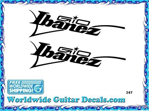 Ibanez Gio Guitar Decal Headstock Waterslide Restoration logo 247