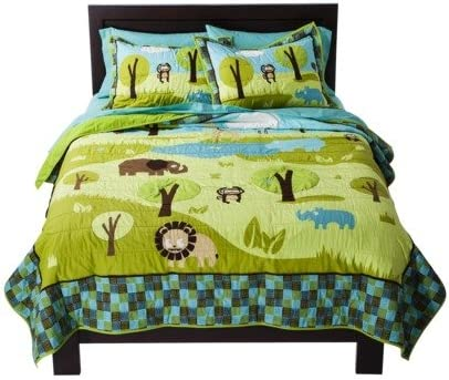 Wild Safari Financial Mail order sales sale Collection Child's Full - Beds Queen Comforter Quilt