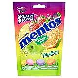 Mentos Caramelo Masticable Mix Frutas - 1 bolsas de 160 gr