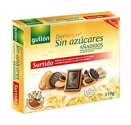 Gullón - Surtido Galletas Sin Azúcares Añadidos - Diet Nature , 1 x 319 g