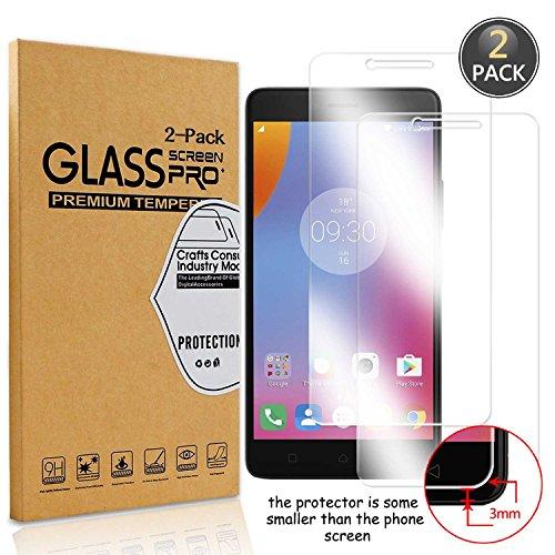 Owbb [2 Pack] Pellicola Vetro Temperato per Lenovo K6 Note, Glass Screen Pellicola Protettiva 9H Durezza 99% Alta Trasparente 0.26mm 3D Touch Compatibile per Lenovo K6 Note