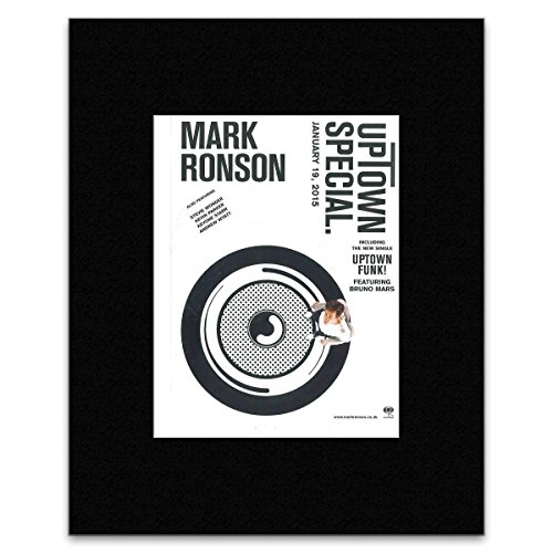 MARK RONSON - Uptown Special 2015 Mini Poster - 28.5x21cm