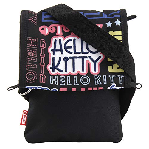 Hello Kitty Cartable Sacoche 23 cm (Noir)