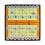 Larcele Falten Magnetisch Chinesisches Schach Xiangqi Strategie Brettspiel für Reisen