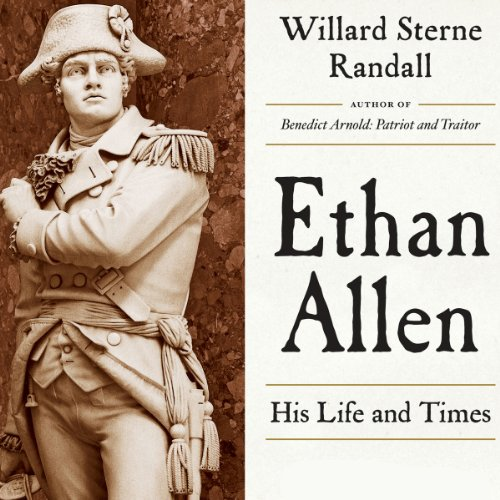 Ethan Allen audiobook cover art