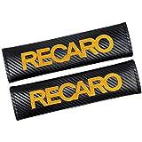 ペアの自動車の安全シートベルトカバークッションハーネスショルダーパッドケースシートベルトショルダーストラップパッド用レカロ・レーシングは、コーブ椅子 カーシートベルトショルダープロテクター (Size : For RECARO orange)