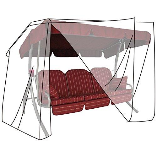 WOLTU Housse de Protection imperméable pour Balancelles de Jardin,150x215x150cm,Transparent