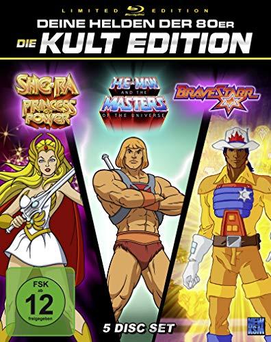He-Man + She-Ra + BraveStarr - 80er Jahre Kult Zeichentrick Edition - Special Gesamtedition [Blu-ray]