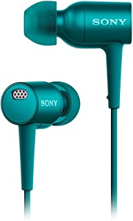 Sony MDR-EX750NA Blue Noise Canceling Headphones with Microphone MDREX750NA