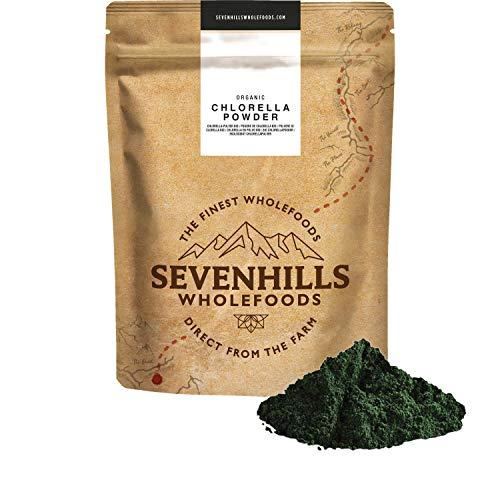 Sevenhills Wholefoods Chlorella-Pulver Bio 250g