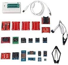 Signstek Original TL866Ⅱ Plus Universal Minipro Programmer + 21 Adapters + IC Clip Clamp AVR PIC BIOS 51 MCU Flash EPROM Programmer