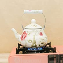 Koffie Sets Porselein 1.5L Emaille Waterkoker Inductie Fornuis Waterkoker Theepot Gas Waterkoker Inductie Fornuis Algemene...