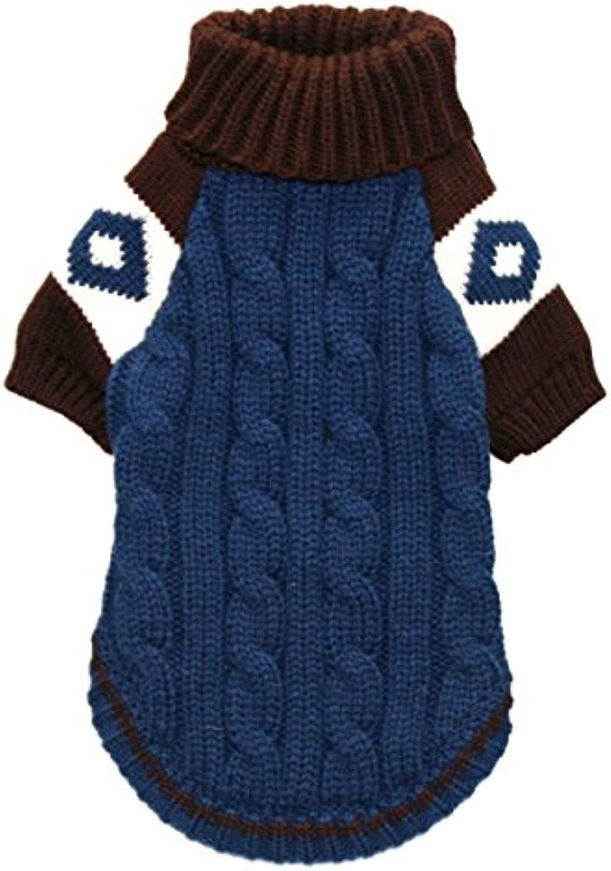 Hip Doggie HD7SLSOXL Ski Lodge Sweater, orange, Size XL