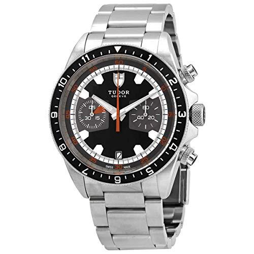 Tudor Heritage Chronograph Automatic Black Dial Men's Watch M70330N-0005