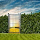 DEMA Gartentüre 100x160 cm Anthrazit