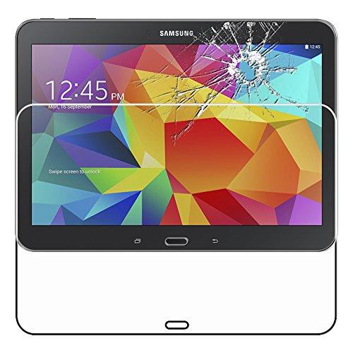 ebestStar - kompatibel mit Samsung Galaxy Tab 4 10.1 Panzerglas SM-T530, T533 T531 T535 Schutzfolie Glas, Schutzglas Displayschutz, Displayschutzfolie 9H gehärtes Glas [Tab: 243.4x176.4x8mm, 10.1'']